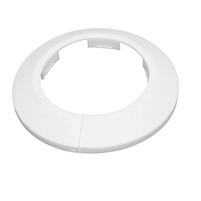 Uxcell 63mm Plastic Wall Flange Radiator Water Pipe Cover Collar