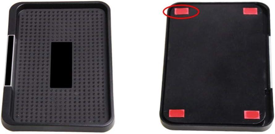 Asdomo Car Tappetino antiscivolo per auto per telefono cellulare con tappetino antiscivolo per auto multifunzione