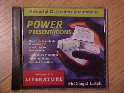 McDougal Littell Literature: Power Presentations CD-ROM Grade 7