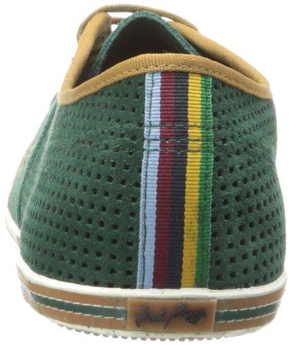 Fred Perry - Zapatillas de ante para hombre verde verde