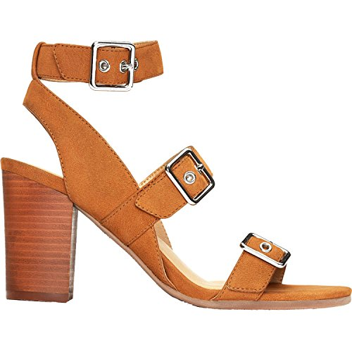Vionic Womens Perk Carmel Backstrap Heel Sandal Saddle Size 9 5