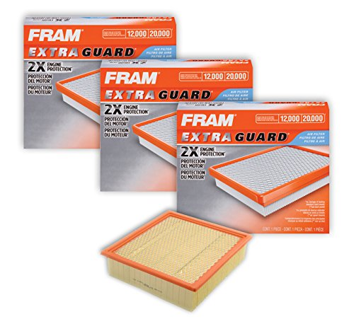 Fram CA10262 Extra Guard Panel Air Filters (3 Pack) by Fram