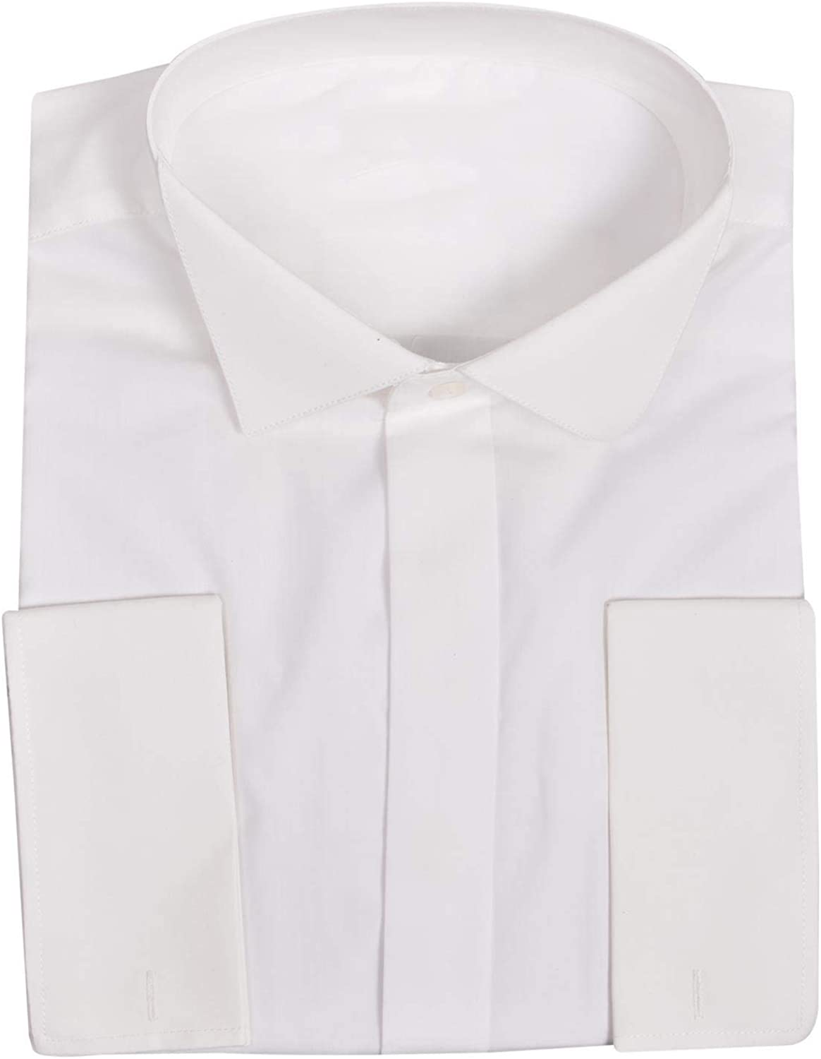 Ex-Branded Mens Wing Bwing Double Cuff Formal Dress Shirt
