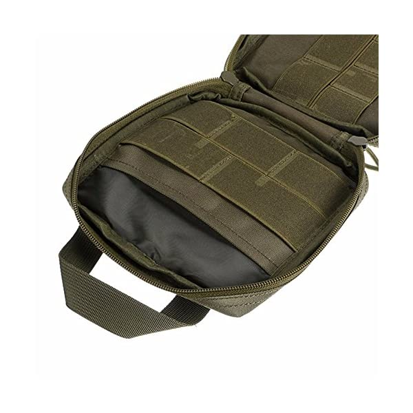 Exercise & Fitness Waist Packs Tactical MOLLE Pouch EDC Military Bag Organizer MOLLE Tactical Bags Portable Packs EDC Pouch Multi-Function Medical Kit Utility Tool Belt Water-Resistant Utility Gadget First Aid Survival Bag