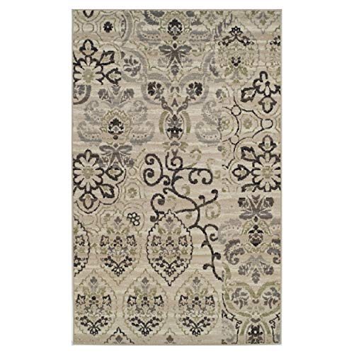 Superior Caldwell Collection Area Rug 5X8 -Beige