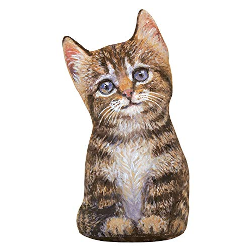 - FIDDLERS ELBOW/TOY WORKS Brown Tabby Kitten Doorstop - Decorative, Useful & 9