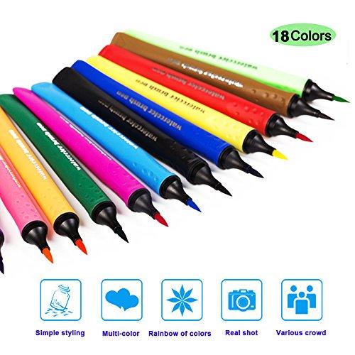 happlee-watercolor-brush-pens-pack-of-18-brush-tip-fine-tip-watercolor-markersblending-shading-calli