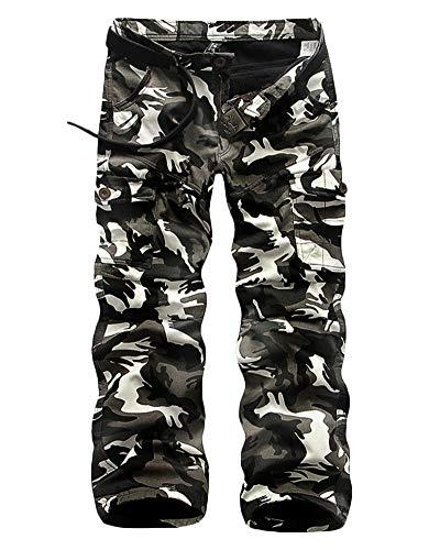 Loisir Homme De Ski Mc Pantalon Chaud Noir Outdoor Blanc Travail Pédestre 06 Liangzhu Ceinture Cargo sans Pantalons Randonnée RdXUqxwRI8