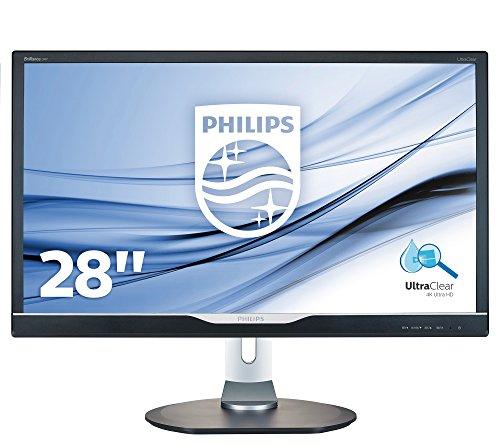 """288P6LJEB/28""""W HD 2160p HDMI Display 28"""" UltraClear 4K display. 50000000:1 (dynamic) - 5 ms - HDMI, DVI-D, VGA, DisplayP"""