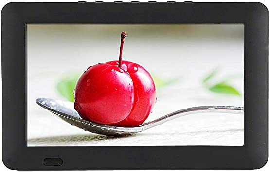 Bewinner 9 Pulgados DVB-T/T2 Super Delgado TV Digital,Alta Resolución TFT LED Pantalla de Color,Función de Audio-Video Entrada. Soporte USB, Tarjeta TF,1200mah Batería HD TV Portátil: Amazon.es: Electrónica
