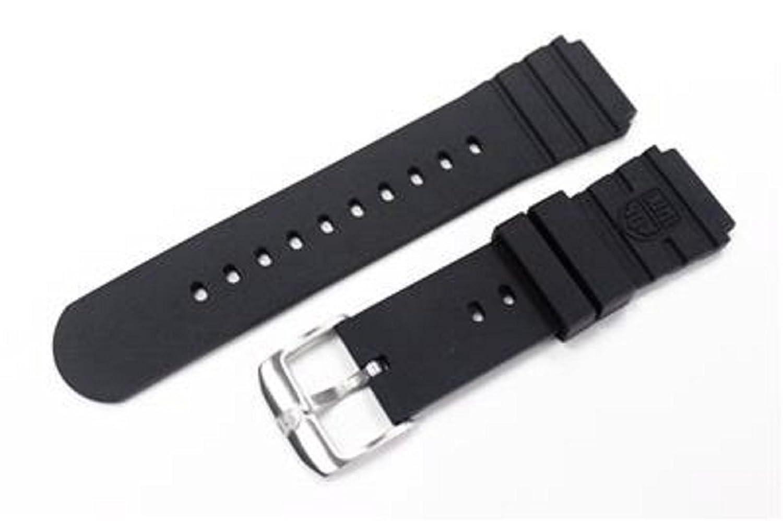 ゴム腕時計ストラップ20 mmモデルforルミノックスNavy Seals 3000 3100 3200 3900  B076DTJ7T7