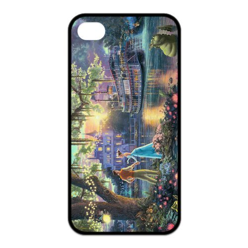 Fayruz- Disney Princess Protective Hard TPU Rubber Cover Case for iPhone 4 / 4S Phone Cases A-i4K23