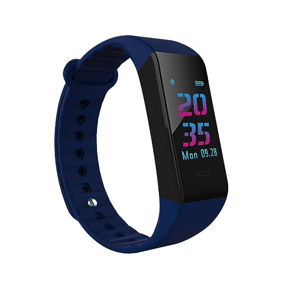 Reloj Fitness Tracker a prueba de agua Pulsera inteligente Podómetro W6s Modo multideporte Monitorización de la
