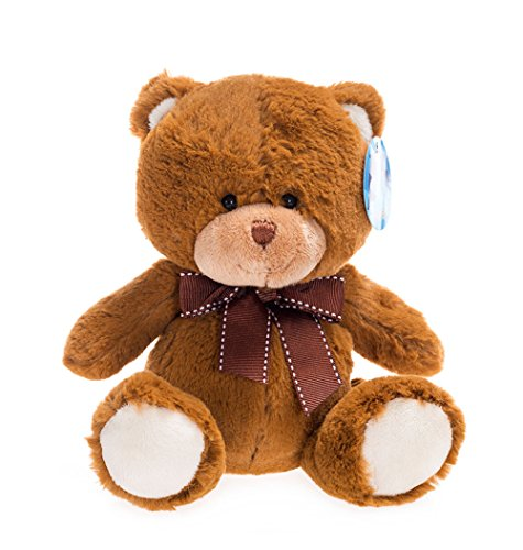 WILDREAM My First Teddy Bear Baby Stuffed Animal, 8 inches]()