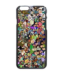 """Futurama Pattern Image Protective iphone 6 (4.7"""") Case Cover Hard Plastic Case For iPhone 6 - 4.7 Inches"""