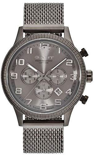 Gant Reloj Analógico para Hombre de Cuarzo con Correa en Acero Inoxidable GT010002: Amazon.es: Relojes