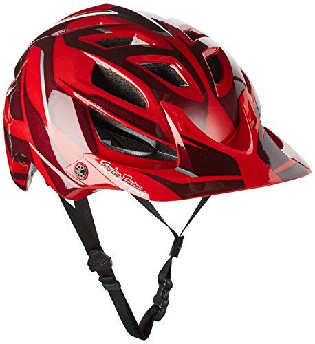 Troy Lee Designs Reflex A1 Adult Bike Sports BMX Helmet - Red / X-Small/Small
