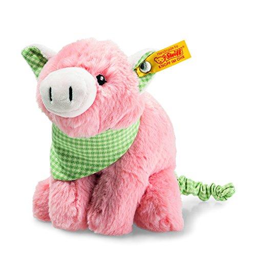 (Steiff Happy Farm Piggilee Pull-Tail, Pink)