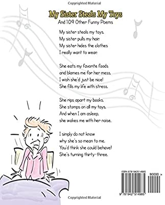 My Sister Steals My Toys: And 109 Other Funny Poems: Steve