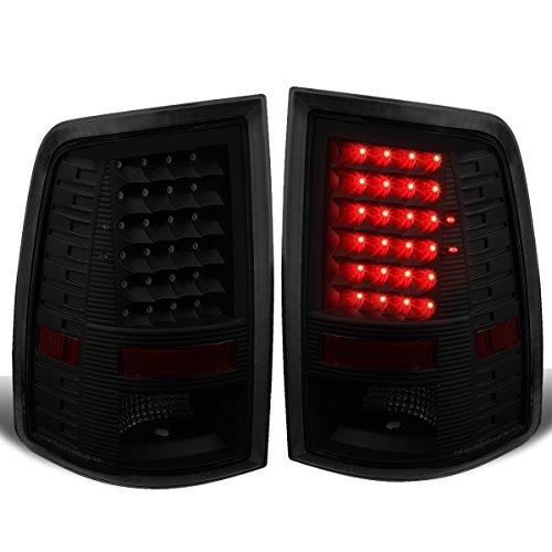 - For 09-17 Dodge Ram 1500/2500/3500 Pair of LED Tail Brake Lights (Black Housing Smoked Lens)