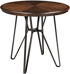 Signature Design by Ashley D372-13 Centiar Dining Table, Two-Tone Brown