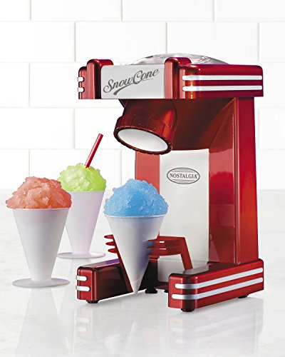 082677270023 - Nostalgia RSM702 Retro Series Single Snow Cone Maker carousel main 1