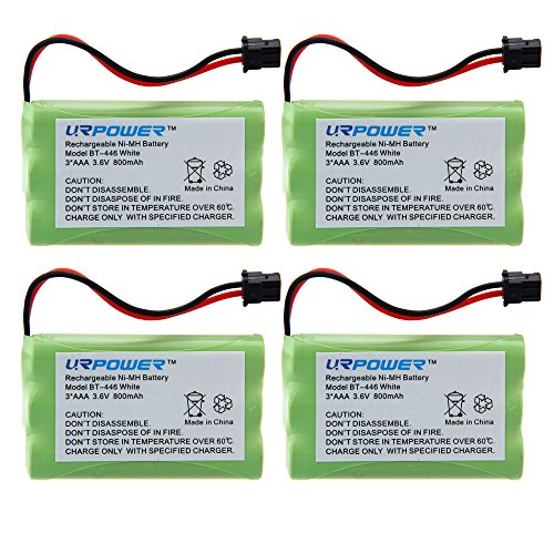 URPOWER® 4 Pack 3.6V Ni-MH 800mAh Cordl - Nickel Metal Hydride Cordless Phone Shopping Results