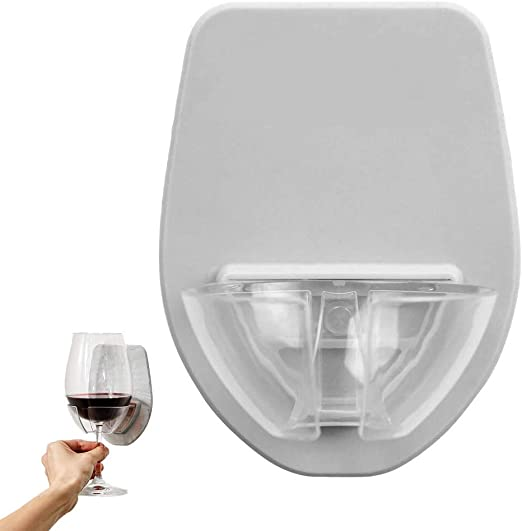 Watt Plastic Wine Glass Holder For The Bath Shower Red Wine Glass Handle Store