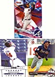 #5: Ronald Acuna Atlanta Braves Lot of 3 Baseball Cards - 2017 Bowman's Best, 2017 Bowman Draft, and 2017 Leaf Draft