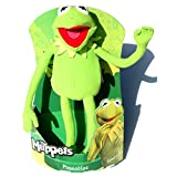 "The Muppets Kermit The Frog 12"" Plush Poseable Frog"