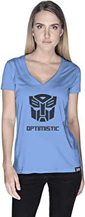 Creo Optimus Super Hero T-Shirt For Women - S