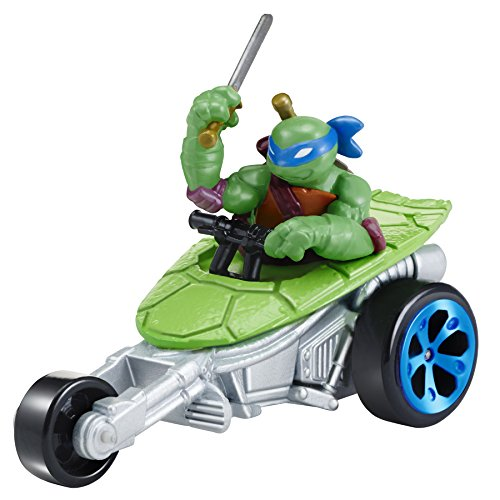 Teenage Mutant Ninja Turtles T-Machines Leonardo in Stealth Bike Diecast Vehicle (Ninja Turtle Valentine compare prices)