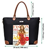 NNEE Large Oversized Water Resistance Nylon Tote