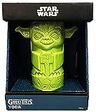 ThinkGeek Geeki Tikis Yoda 14-Ounce Ceramic Drinking Mug - Officially-Licensed Star Wars Merchandise