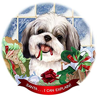 Shih Tzu Dog Breed Christmas Tree Ornaments