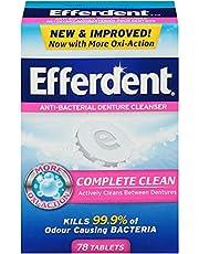 Efferdent Anti-Bacterial Denture Cleanser Tablet