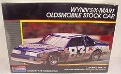 #2779 Monogram Nascar Lake Speed Wynn's/K-Mart Oldsmobile Stock Car 1/24 Scale Plastic Model Kit by Monogram