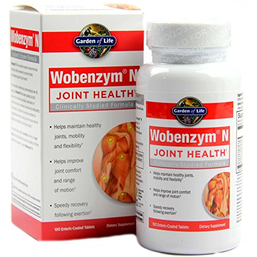 Wobenzym N Enteric Coated Tabs (1600 Tablets) by Marlyn Naturally