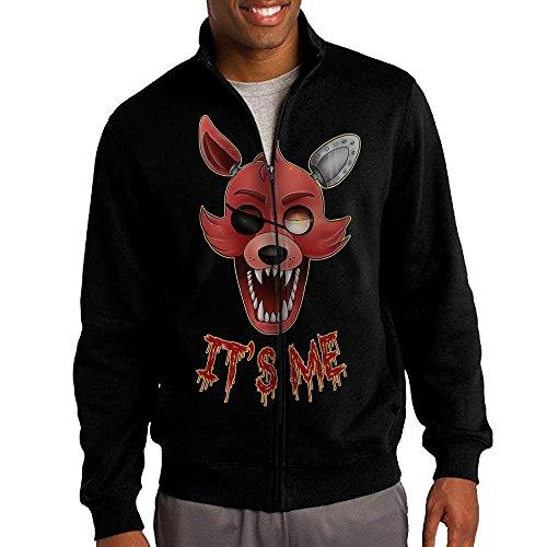 Cndia Sam Five Nights at Freddy Men's Full Zip Sweatshirt