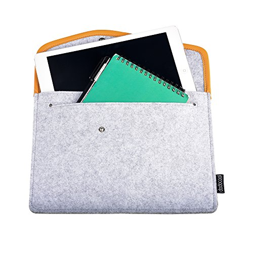 dodocool-Tablet-Felt-Sleeve-97-Inch-Envelope-Cover-Carrying-Case-for-Apple-iPad-Pro-iPad-Air-2-1-and-More