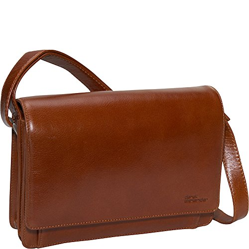 derek-alexander-leather-flap-organizer-handbag-tan