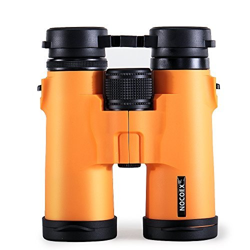 NOCOEX 8X42 HD Binoculars - Military Telescope for Bird Watching, Hunting and Travel - Compact Folding Size with Strap - High Clear Large Vision - Orange [並行輸入品] B01NBQMFQM