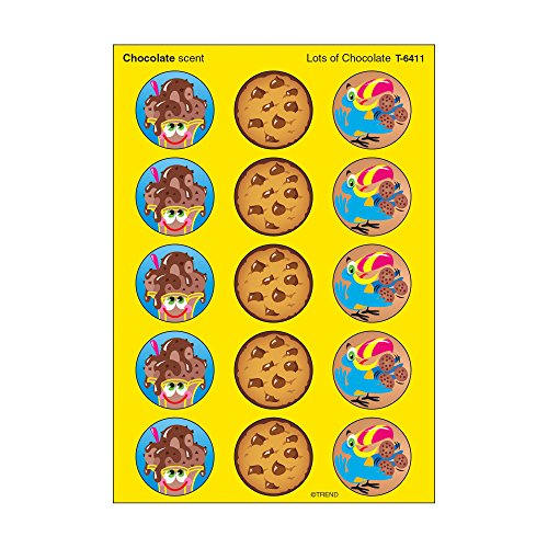 - Trend Enterprises Lots of Chocolate/Chocolate Stinky Stickers (60 Piece), Multi