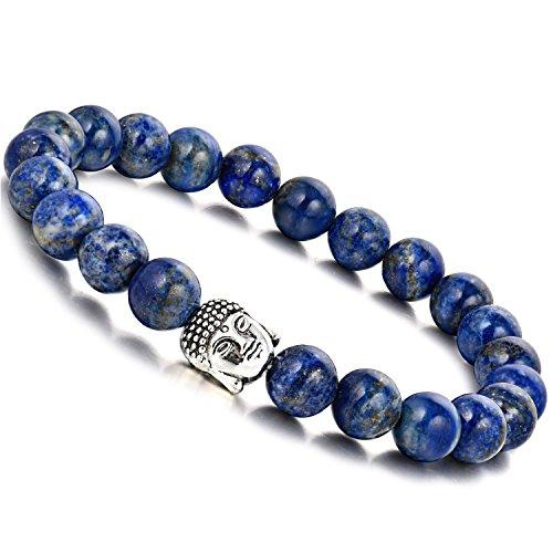 WRCXSTONE Natural Gemstone Healing Bracelet