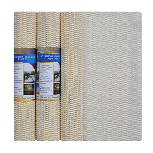 Review Ivory Non Slip Shelf and Drawer Liner: Buy More and By Royal Trading by Royal Trading