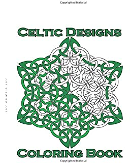 Celtic Designs Coloring Book 23 Amazingly Stress Relieving