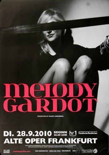 Melody Gardot - My Only Thrill Fra 2010 - Concert Poster Plakat
