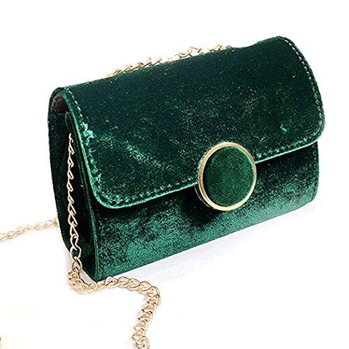 Sera Elegante A Green Tracolla Borsellino Coafit Da Peluche Donna Borsa In wq0qCOZ