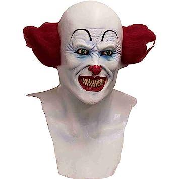 Máscara integral payaso diabólico adulto - Halloween: Amazon.es: Juguetes y juegos
