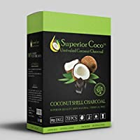 Superior Coco Coconut Charcoal-1kg Cube